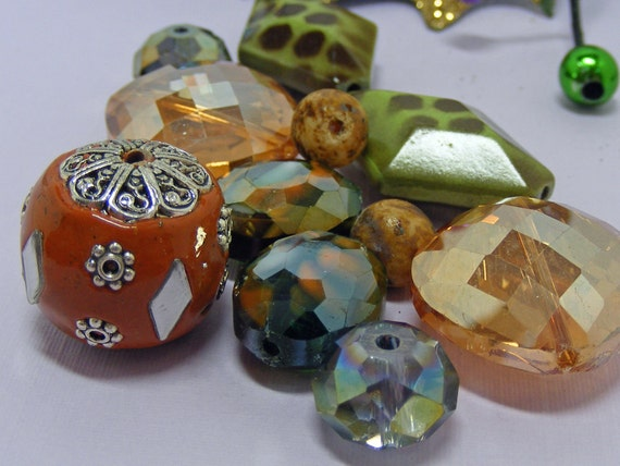 Czech Glass GYPSIES Assorted Beads