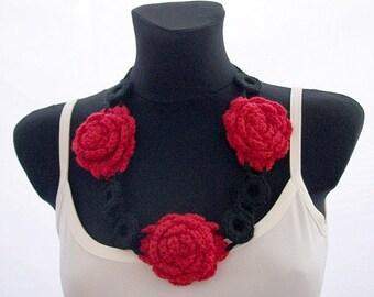 Crocheted Necklace/Belt
