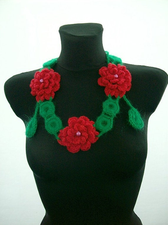Crocheted Necklace/Belt
