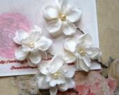 Bridal Hair Pin - Wedding Hair Flowers with Pearl, Bridal Hair Accessories, Bridal Hair Flowers, Bridesmaid