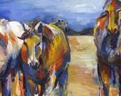 Painted Spirit Horses