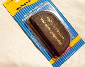 Wool Comb - Inox / PRYM. Knitting tool, anti-pilling tool, tool for removing yarn pilling, wool pilling remover, yarn comb. DSH