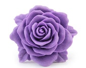 Blue Violet Rose Ring - Piera