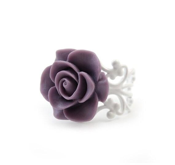 Violet Rose Ring - Michela