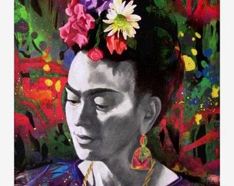 Frida Portrait Print