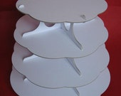 4 Tier white cake stand - made to order for Owen