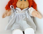 1980s CABBAGE PATCH DOLL, Orange Pigtails