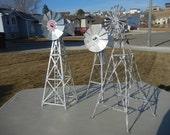 Metal windmills