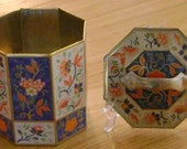 Hexagon Shaped Tin Can