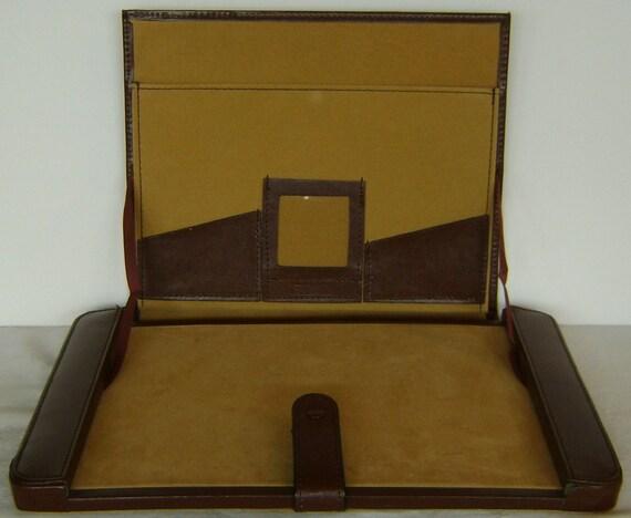 Vintage American Tourister Leather Lap Desk