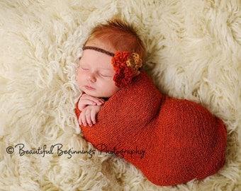 PdF Crochet Pattern - Triple Flower Headband - All Sizes