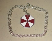Umbrella Corporation Symbol - Resident Evil Necklace