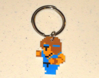 Black Belt Character ( Final Fantasy ) Keychain