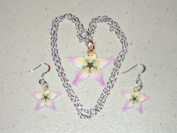 Sora's Lucky Charm - Kingdom Hearts Necklace and Earring Set