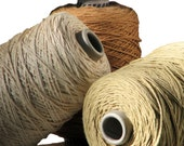 Organic Cotton Yarn, Color Grown, Eco Friendly