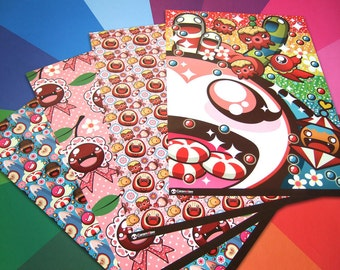 Caramelaw candy coated wrapping paper set (X2 sets)