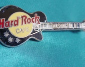 Hard Rock Cafe Washington DC Vintage Guitar Pin