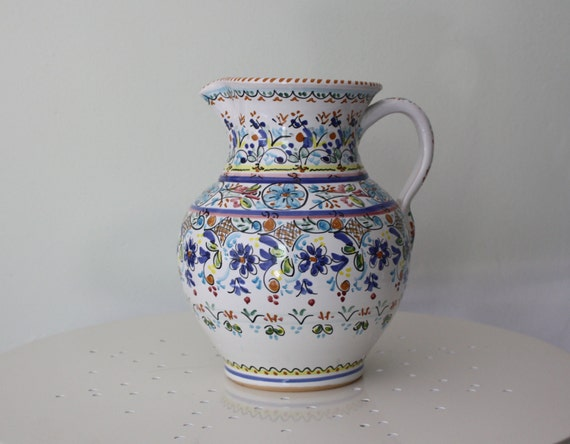 Large Sangria Pitcher Round Made in Spain