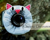 Camera Creatures Cat with Squeaker