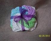 Dishcloth/Tawashi scrubbie or Washcloth/Tawashi body scrubbie