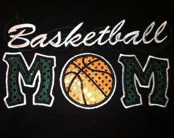 Basketball Mom Shirt Tee TShirt