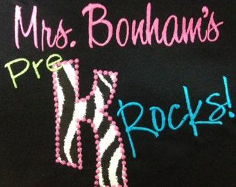 Teachers Rock Pre K Rocks 1st Grade Rocks 2nd Grade Rocks 3rd Grade Rocks 4th Grade Rocks 5th Grade Rocks