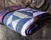 Clearance Sale 20% off Opposites Attract Lap Quilt RESERVED FOR CEW