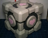 Portal - Aperture Science Weighted Companion Cube Hand Painted Model