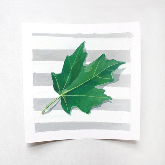 """Maple Leaf painting - original art - """"Maple Leaf 2"""""""