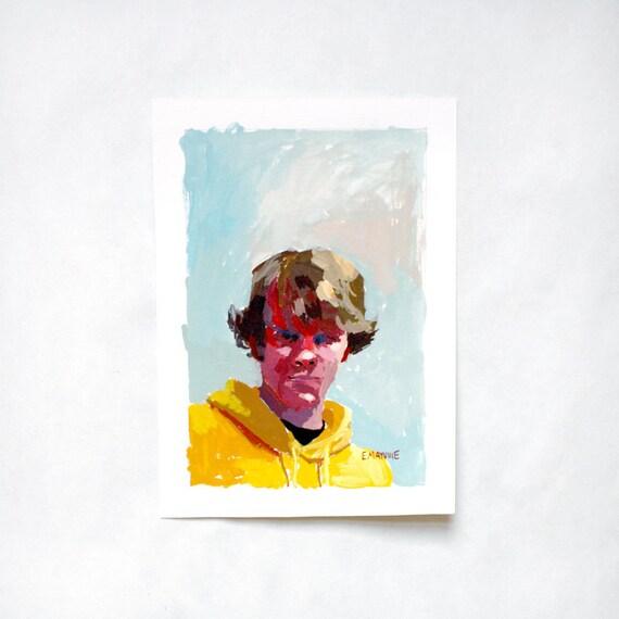 SALE! Leif - original portrait