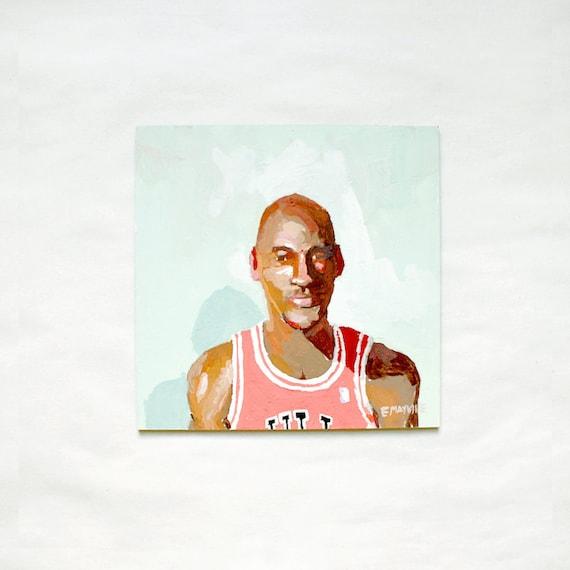 Michael Jordan - Original Painting