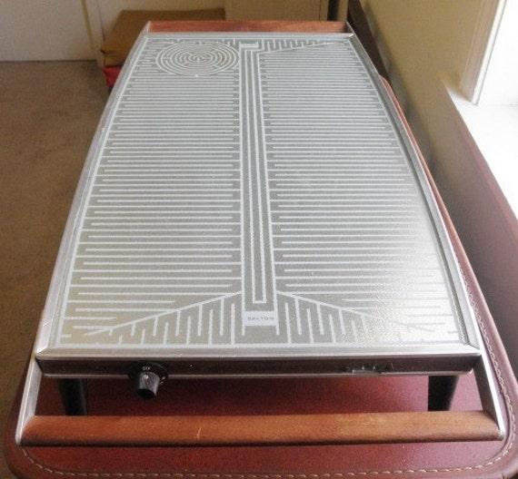 vintage salton electric food warmer hot plate. Black Bedroom Furniture Sets. Home Design Ideas