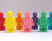 Rainbow Lego Men Soaps
