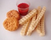 Kids Meal Nuggets and chips Soaps
