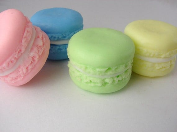 MINI French Macaroon Soaps - Cream filled