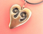 occupy wall street 99 Heart Pendant, free shipping