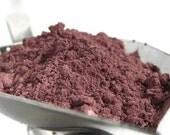 Mineral Blush Fresh Plum blush matte loose powder make up sifter jar