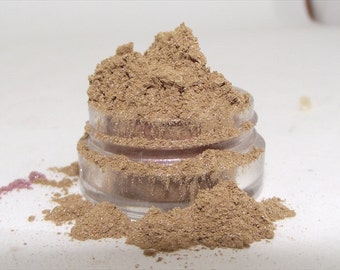 Mineral Eye Shadow Pixies Gold shimmery mica powder shadow 5 gram sifter