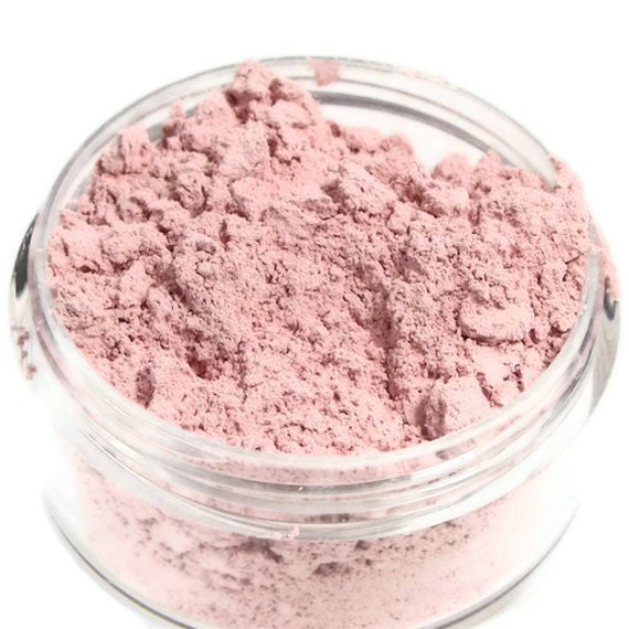 Mineral Blush Raspberry blush matte loose powder make up sifter jar