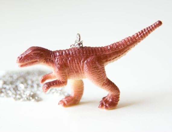 Velociraptor Dinosaur Necklace