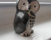 Tiny Danish Owl Figurine