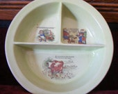 Victorian Baby Bowl Antique Nursery Rhyme