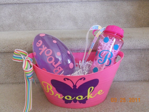 Personalized Easter Basket Set