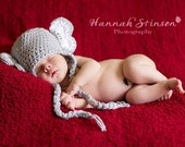 Elephant Earflap Hat