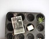 Large muffin tin / Industrial Organizer