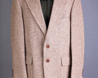 Vintage Size 42 R Men's tweed wool blazer, Hyde Sport coat