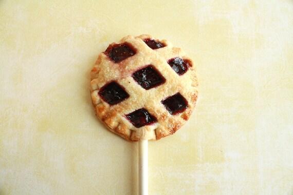 Blackberry Pie Pops (12) Gift Set