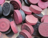 Vintage Wooden Checkers - RESERVED for JENNIFER