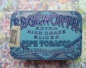 Vintage Blue Pipe Tobacco Tin