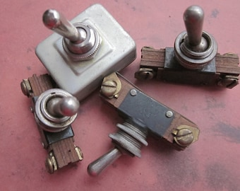 1 Vintage On/Off Toggle Switch